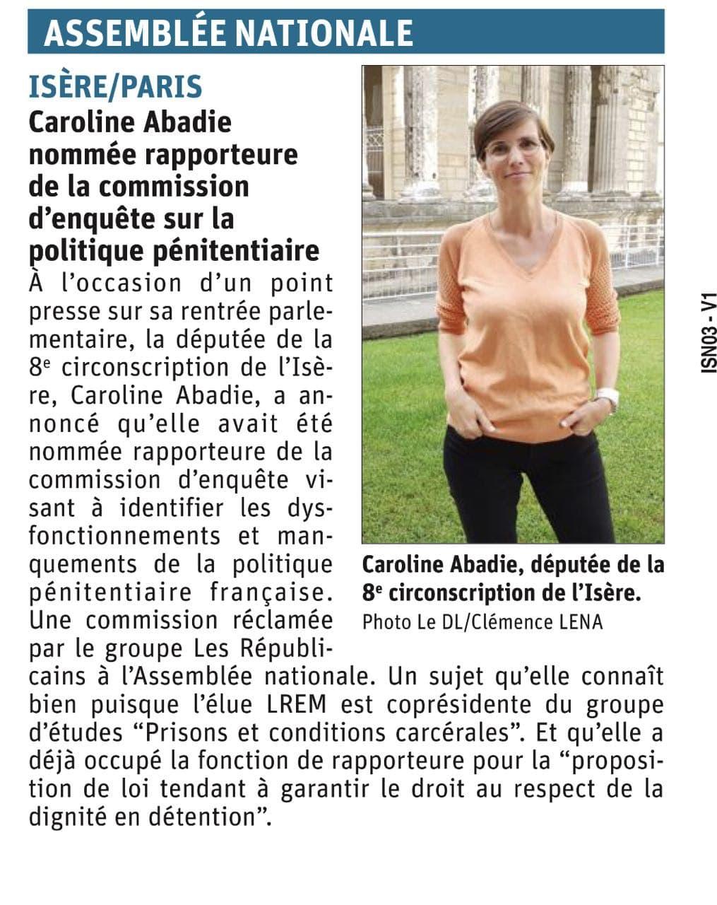 Le Dauphiné Libéré - Septembre 2021